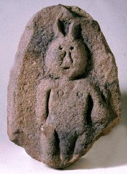 Figure from Bremenium Roman fort.